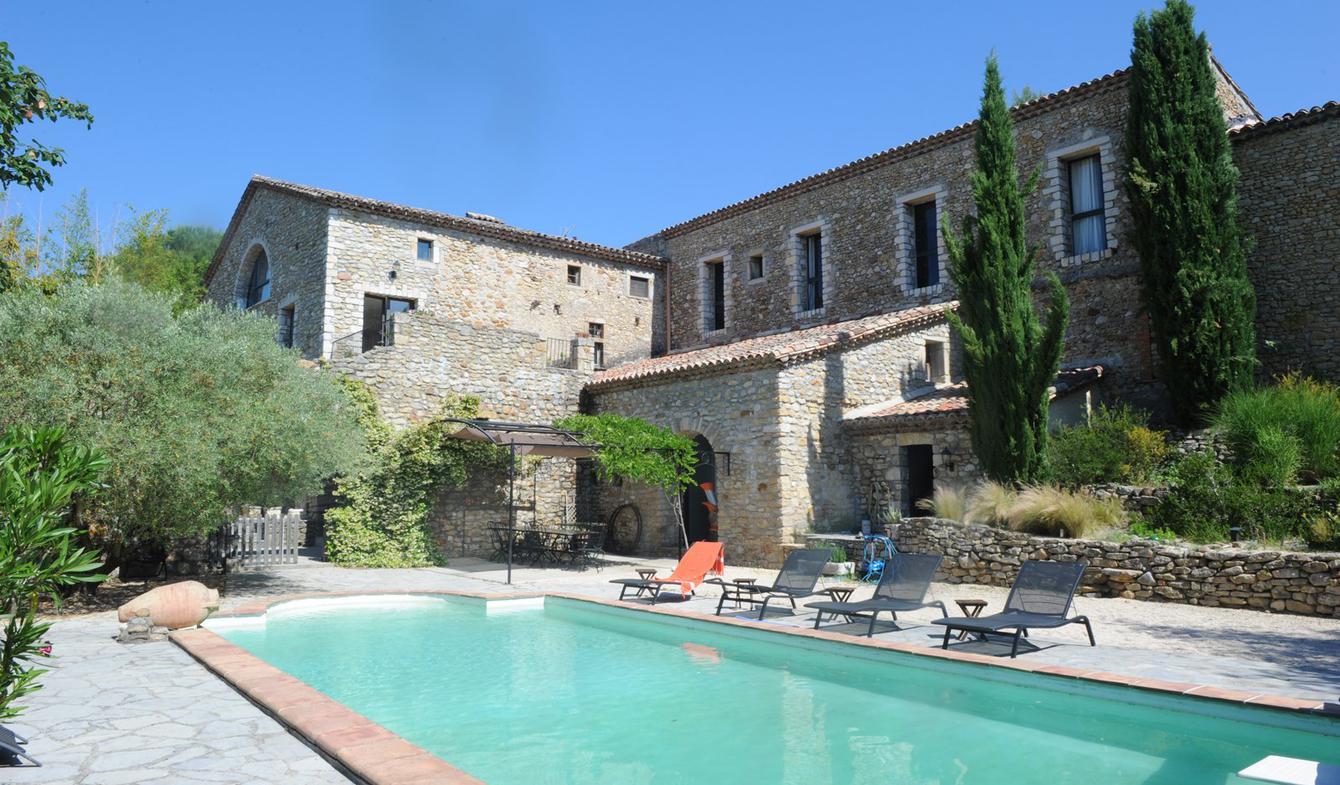 Maison avec piscine et terrasse Rousson