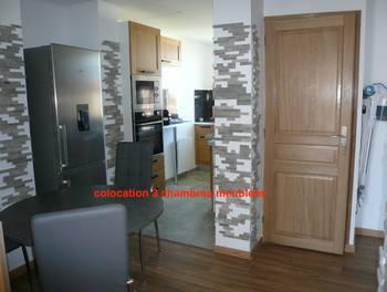 Appartement meublé 2 pièces 19,43 m2