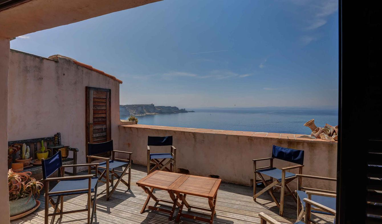 Appartement en bord de mer Bonifacio