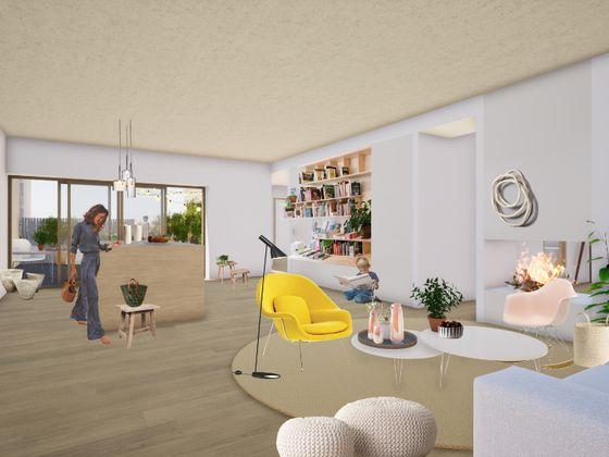 Vente appartement 3 pièces 107,8 m2