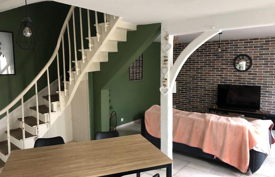 Vente maison 5 pièces 113 m² à Nogent-le-Rotrou (28400), 145 000 €