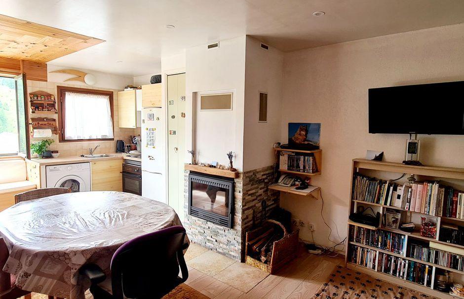 Vente studio 1 pièce 32 m² à La foux d'allos (04260), 86 000 €