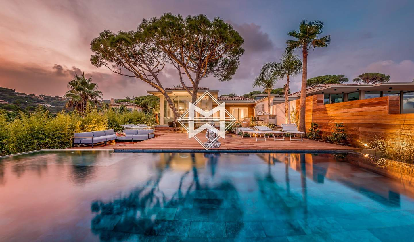 Villa with pool and garden Sainte-Maxime