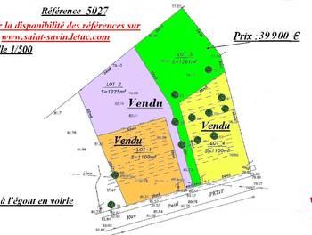 Terrain 1261 m2