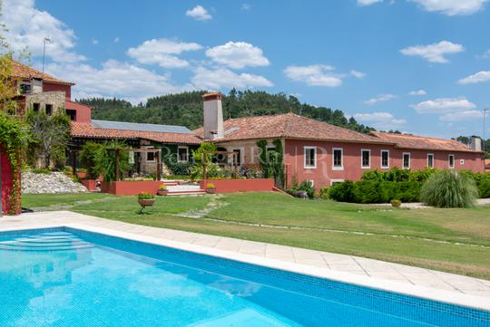 Farm house with garden and pool