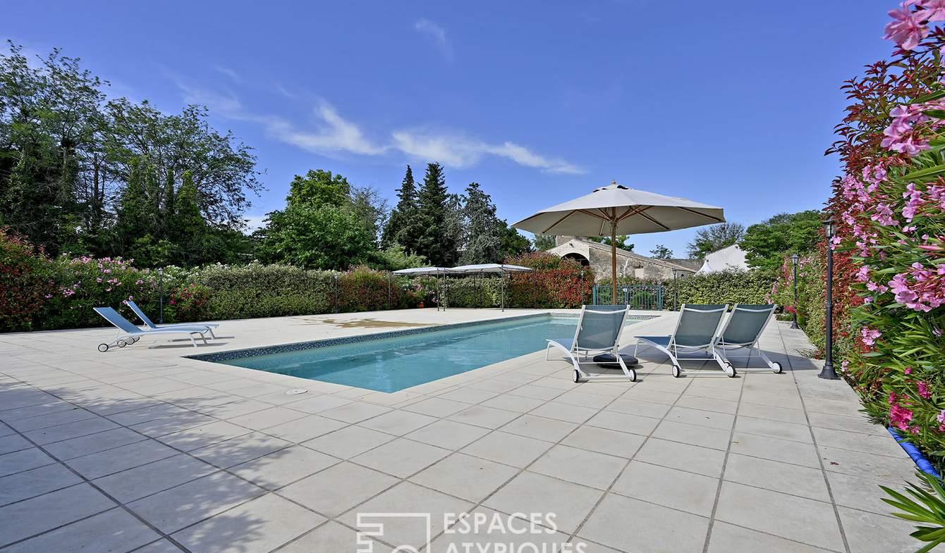 Maison avec piscine Saint-Gilles