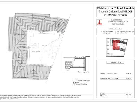 Vente appartement 2 pièces 50,31 m2