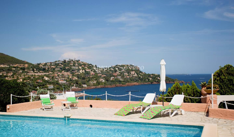 Villa with pool Le trayas
