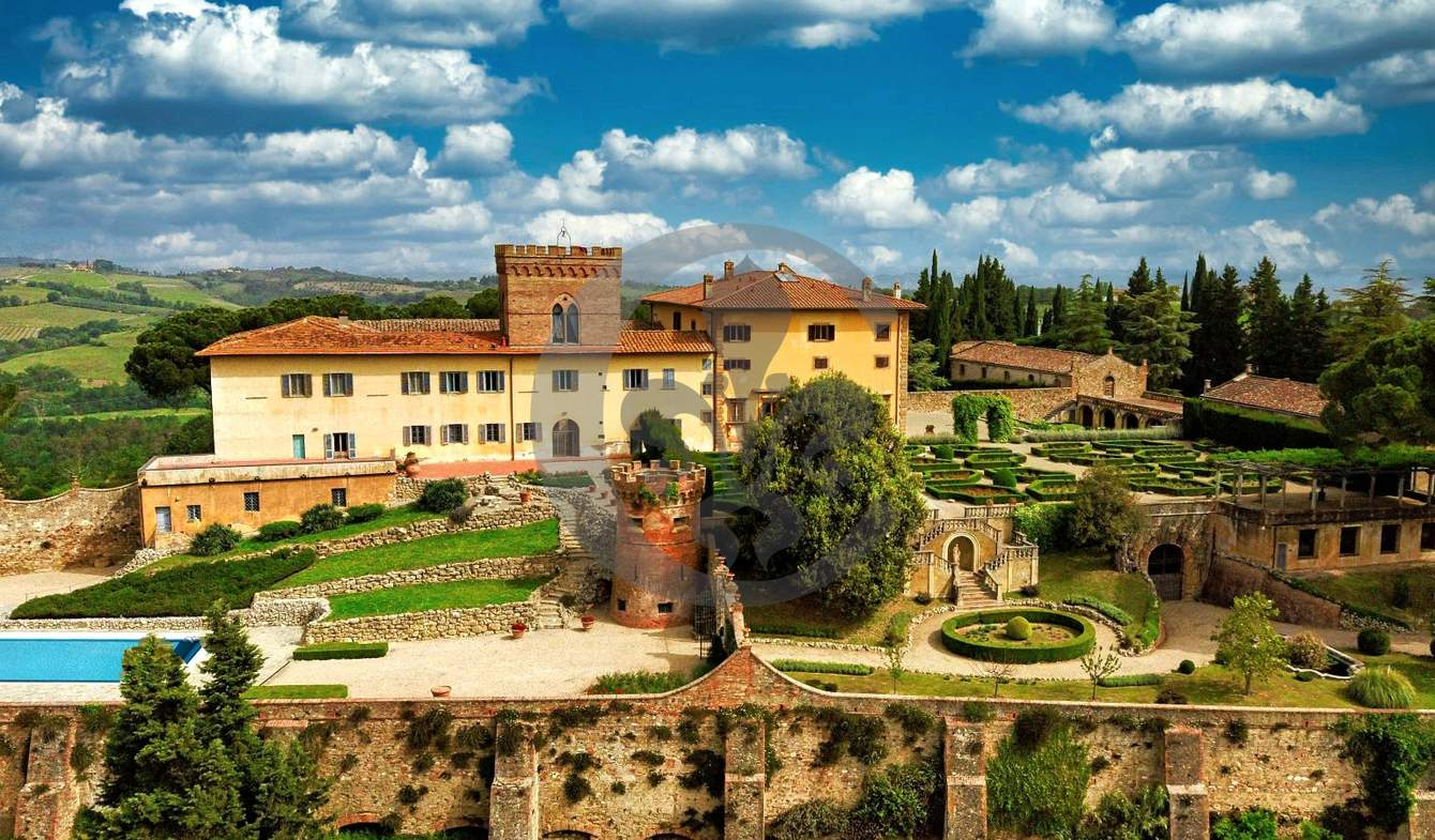 Villa avec piscine et jardin San Gimignano