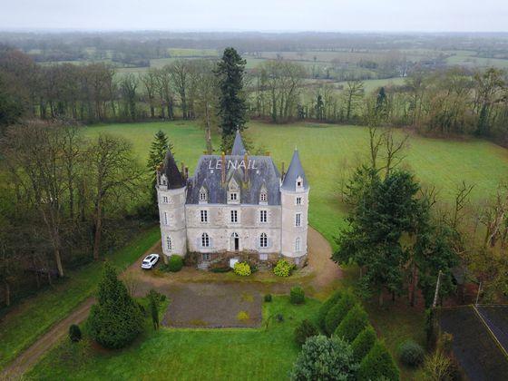 vente Château 18 pièces 570 m2 Laval