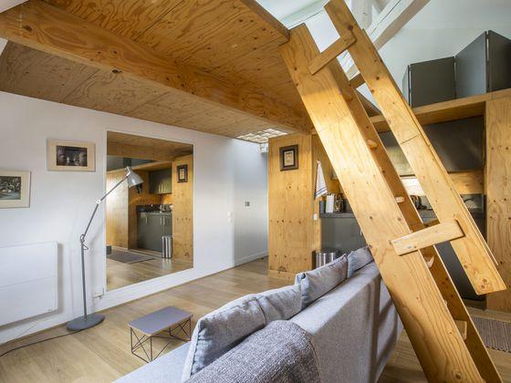 Location studio meublé 22 m2