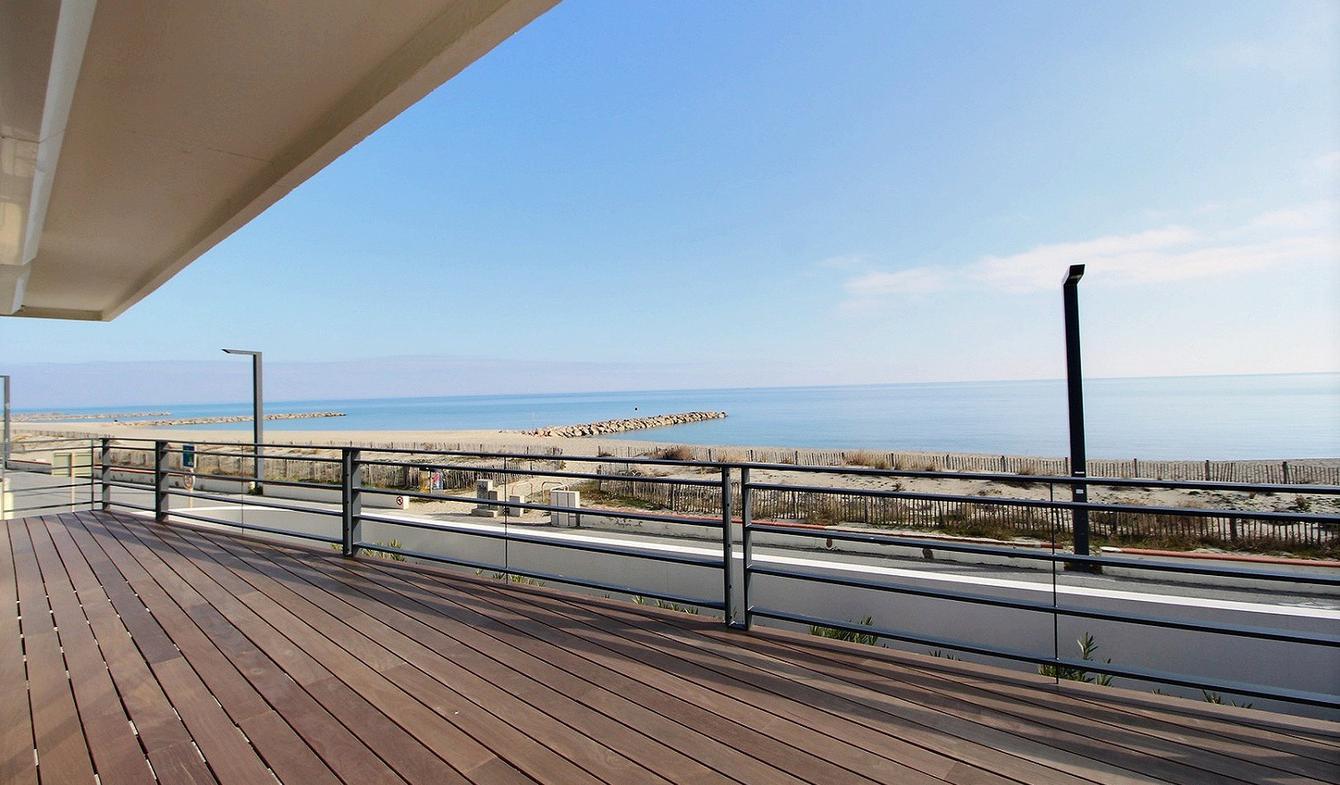 Propriété en bord de mer avec jardin Saint-Cyprien