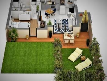 Villa 4 pièces 89,36 m2