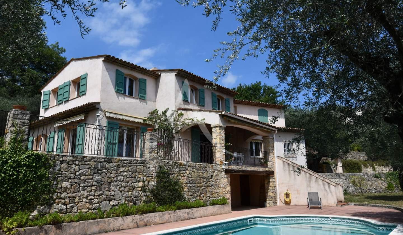 Maison avec piscine et terrasse Opio