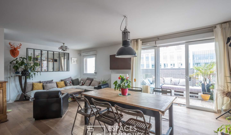 Appartement avec terrasse Arcueil