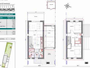 Maison 3 pièces 69,5 m2