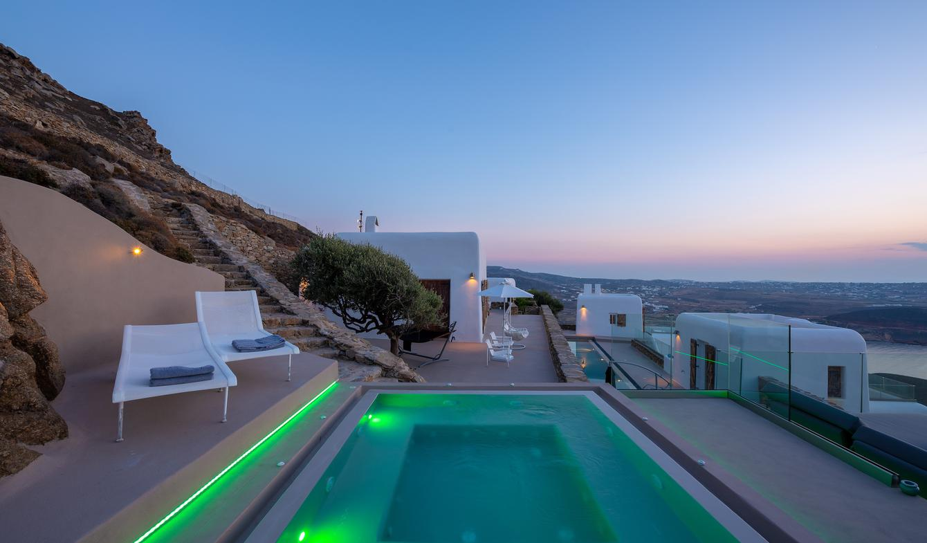Villa avec piscine Ano Mera