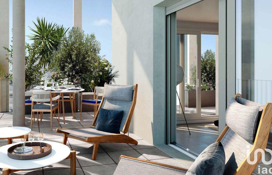 Vente appartement 3 pièces 66 m² à Nice (06000), 380 000 €
