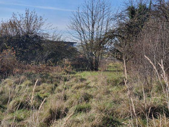 Vente terrain 1009 m2