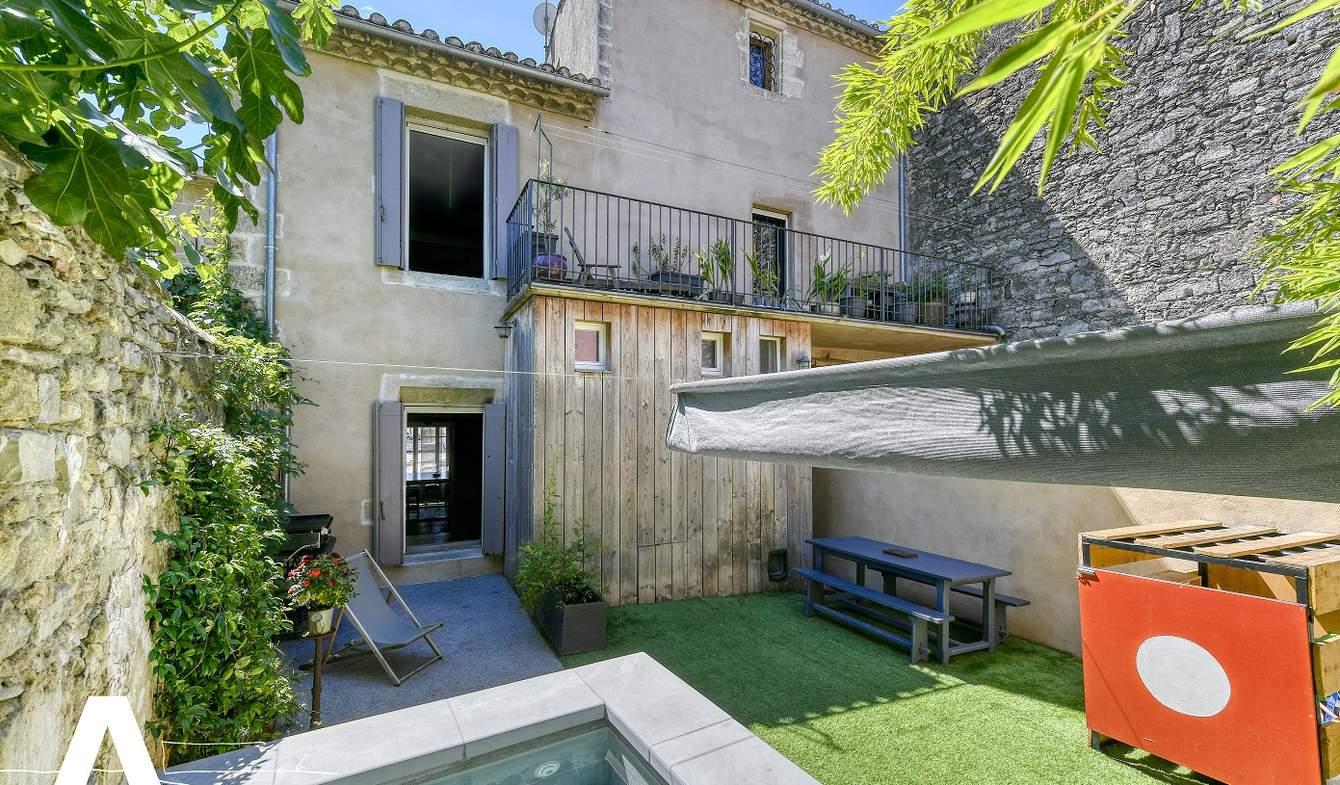 Maison avec piscine et jardin Aigues-Mortes