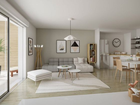 Vente appartement 2 pièces 49,28 m2