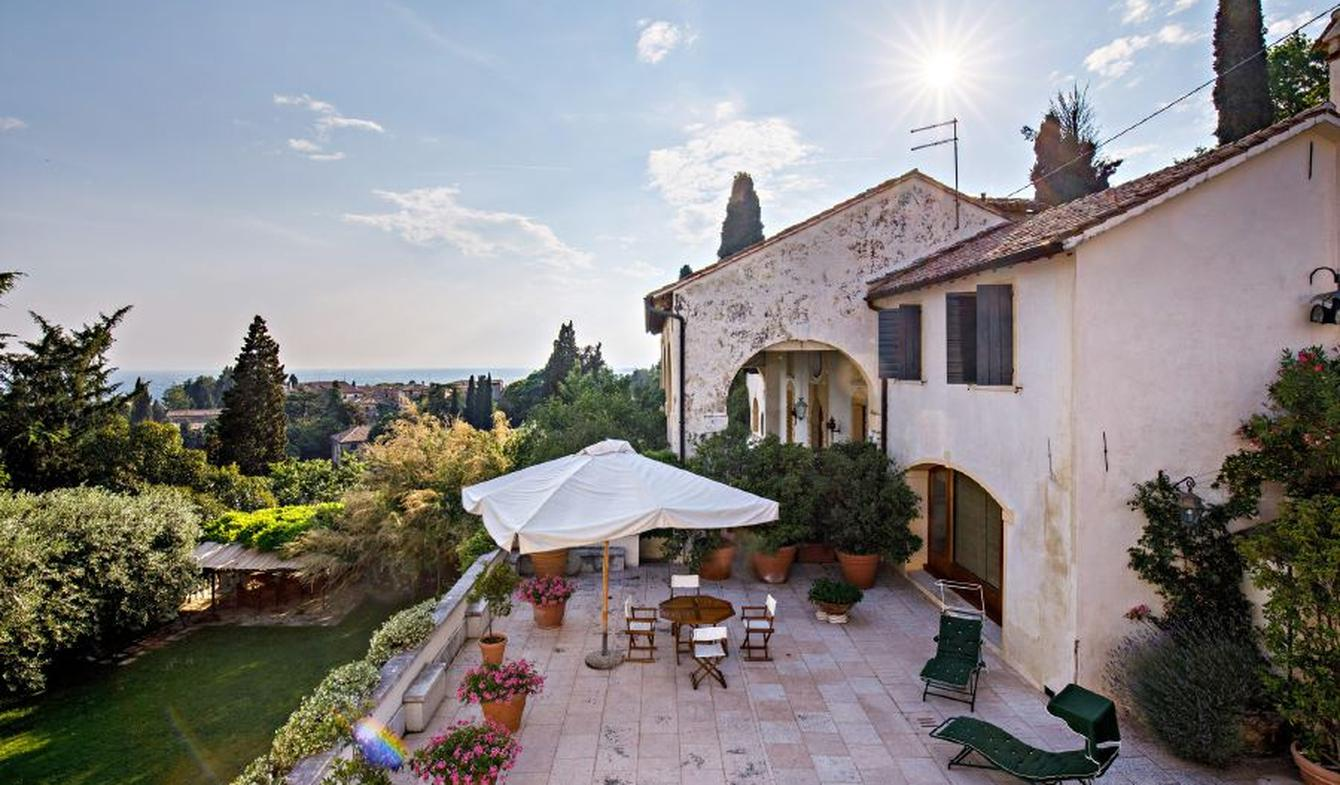 House with pool and garden Asolo