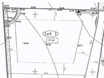 Terrain 709 m2