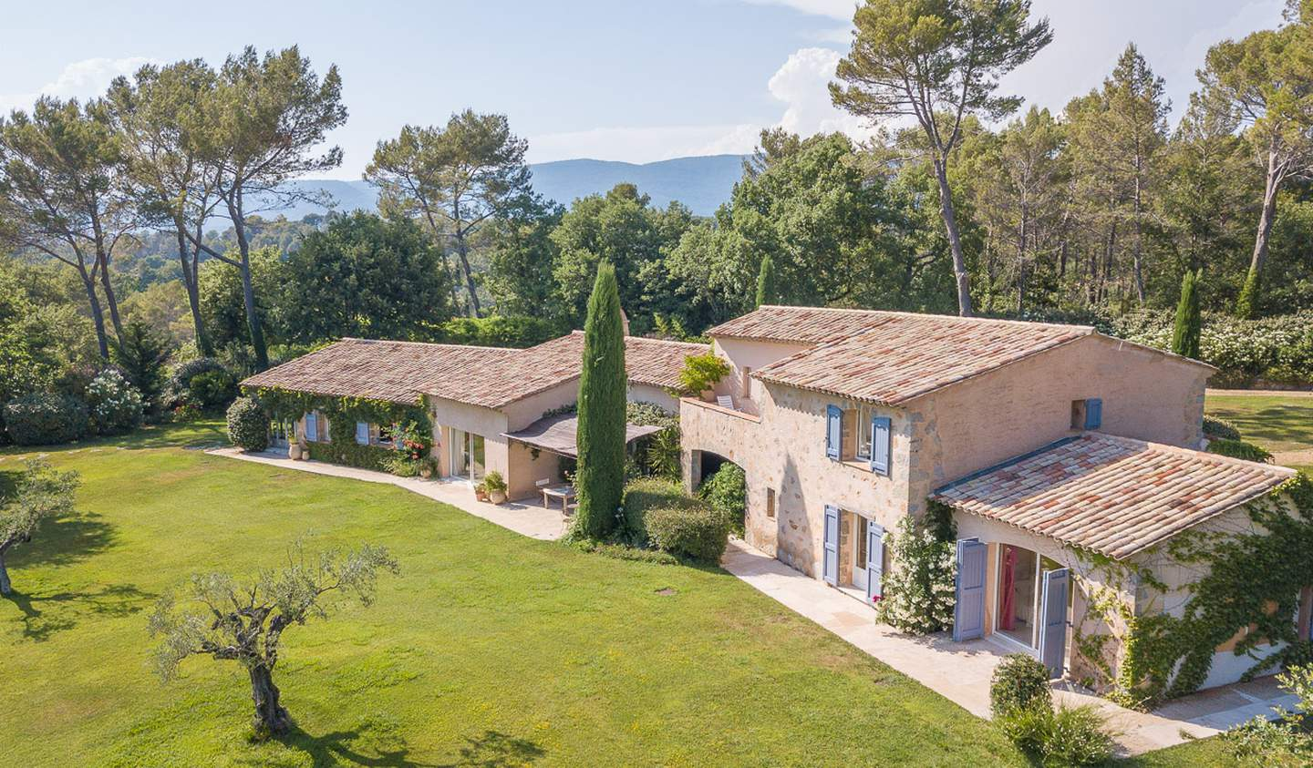 Villa with pool and terrace Fayence
