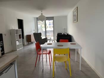 Appartement meublé 2 pièces 51,9 m2