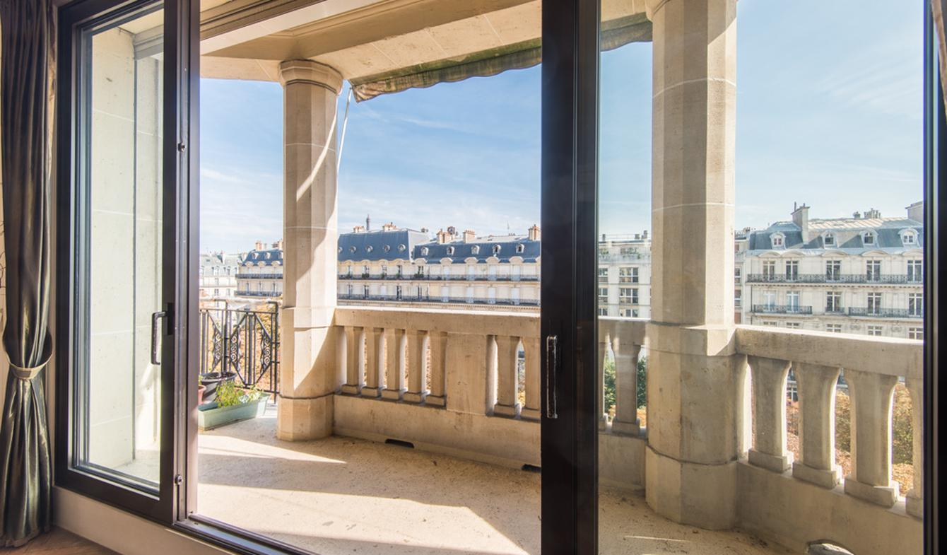 Appartement contemporain avec terrasse Paris 16ème