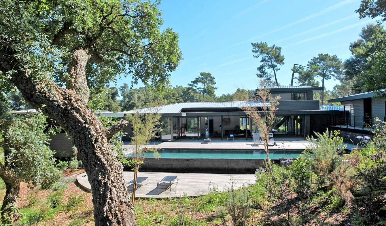Property with pool and garden Hossegor