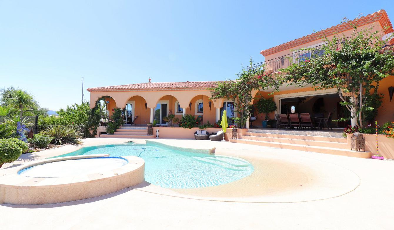 Maison avec piscine et terrasse La Palme