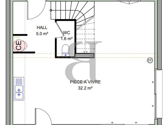 Vente villa 4 pièces 80 m2