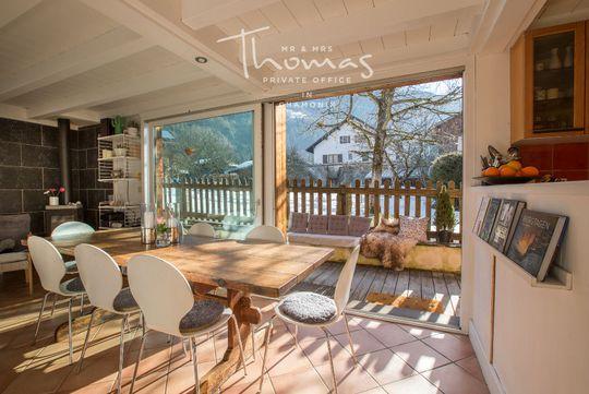 Chalet avec terrasse