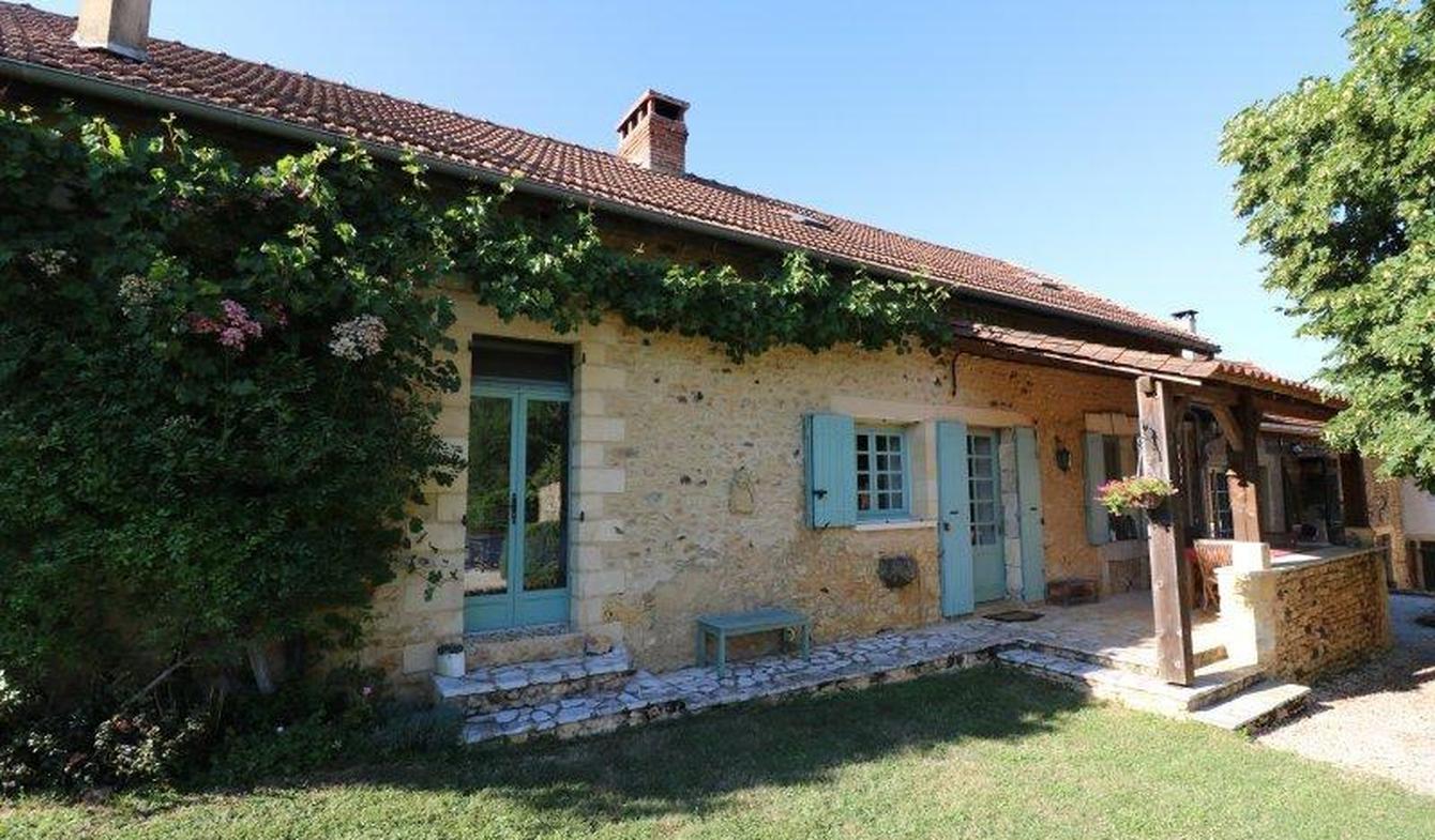 Maison avec piscine Sainte-Alvère