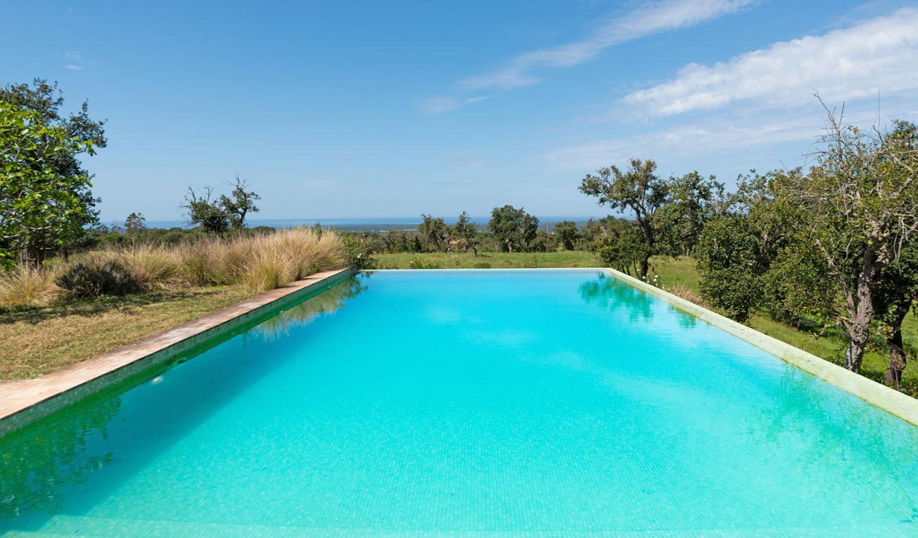 Propriété avec piscine en bord de mer Portugal