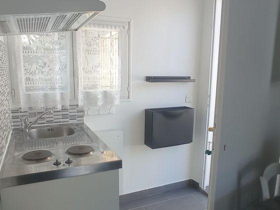 Location studio meublé 15,02 m2