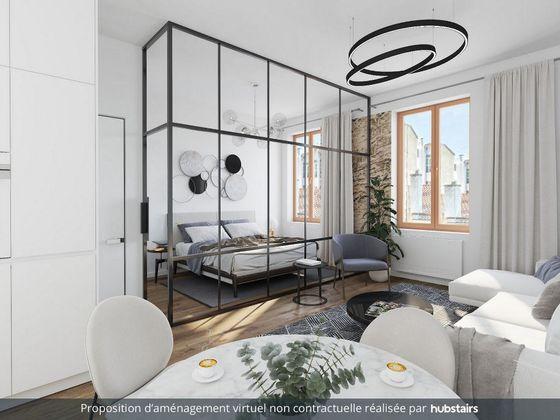 Vente studio 32,5 m2