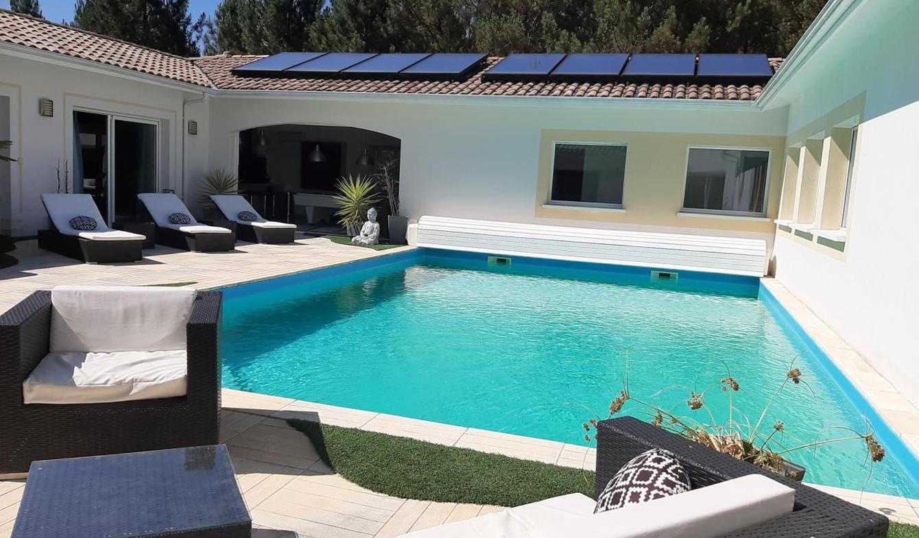 Maison avec piscine Ychoux