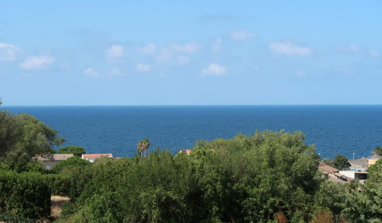 Seaside villa and garden Saint-Florent