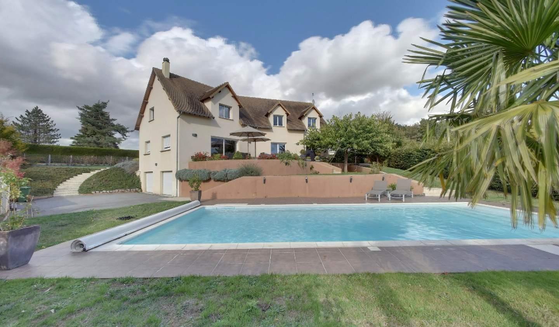 Maison avec piscine et terrasse Beaumont-le-Roger