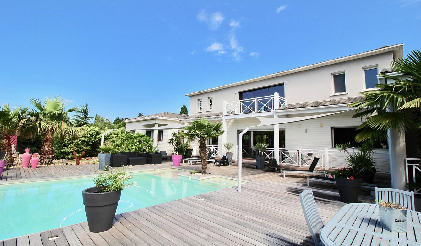 Villa avec piscine et jardin Graveson