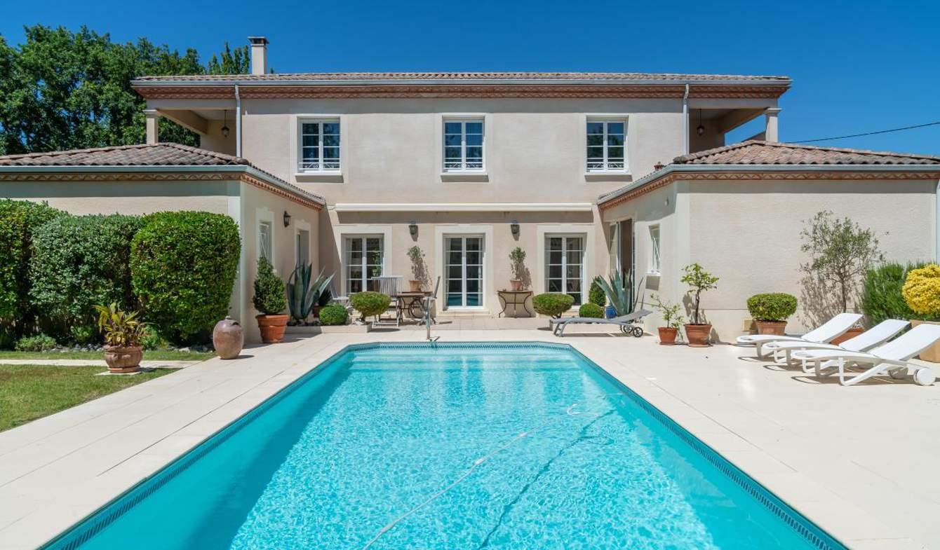 Maison avec piscine et terrasse Saint-Médard-en-Jalles