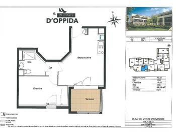 Appartement 2 pièces 39,23 m2
