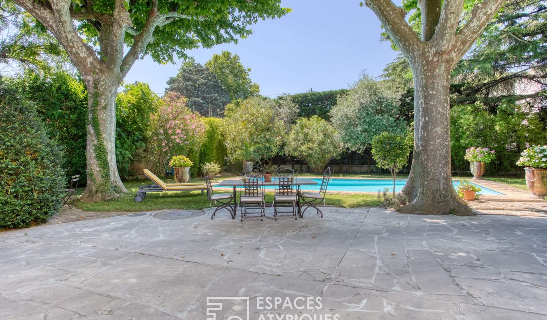 Maison avec piscine et terrasse Monteux