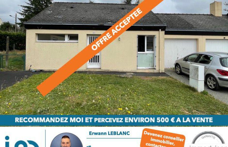 Vente maison 3 pièces 61 m² à Baulon (35580), 134 595 €