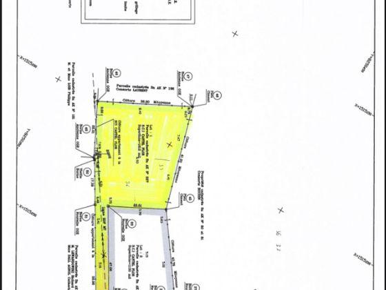 Vente terrain 1612 m2