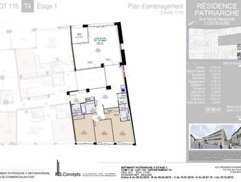 Appartement 4 pièces 121,09 m2