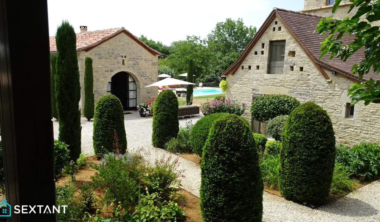 Maison avec piscine et terrasse Caylus