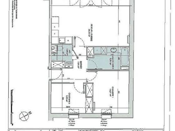 Vente appartement 3 pièces 69,35 m2
